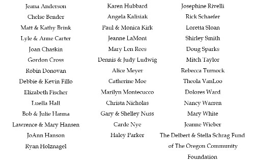 Care Partners Donors